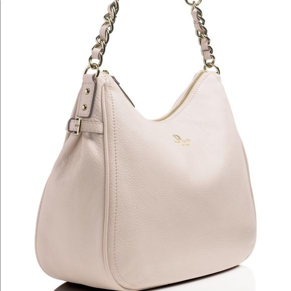 kate spade Handbags - Kate Spade Pebbled Leather Finley Hobo Handbag